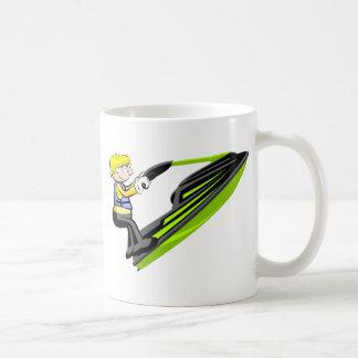 Cruche Jet Ski pour le déjeuner Mug