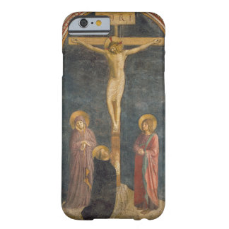 Crucifixion avec la Vierge, solides solubles. John Coque iPhone 6 Barely There