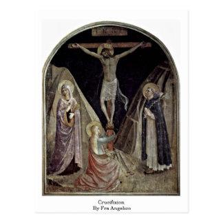 Crucifixion par ATF Angelico Carte Postale