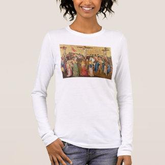 Crucifixion T-shirt À Manches Longues