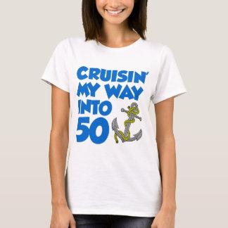 Cruisin ma manière dans 50 t-shirt