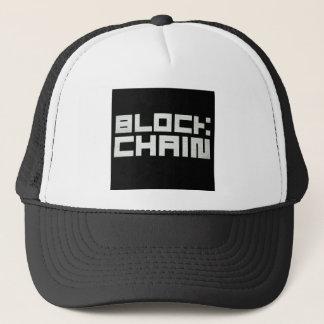 Crypto casquette de Blockchain Cryptocurrency