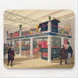 Crystal Palace, la cour agricole (colorée l Tapis De Souris