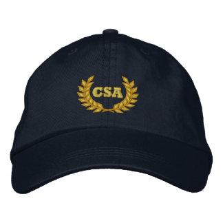 CSA avec le laurier (brodé) Casquette Brodée