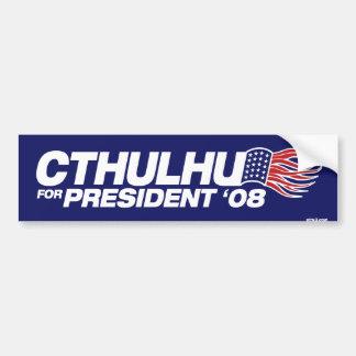 Cthulhu pour le Président adhésif pour pare-chocs Autocollants Pour Voiture