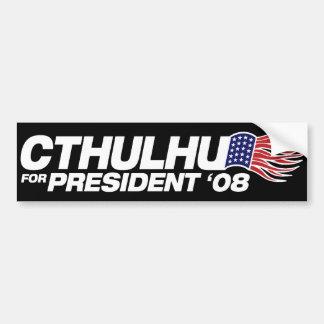 Cthulhu pour le Président adhésif pour pare-chocs Autocollant Pour Voiture