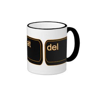 CTRL alt Del Mug Ringer