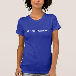 CTRL + Alt + SUPPRESSION + L'OR DOIT ÊTRE REMIS EN T-shirt