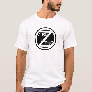 CTRL Z CE T-shirt