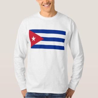 CU de drapeau du Cuba T-shirt