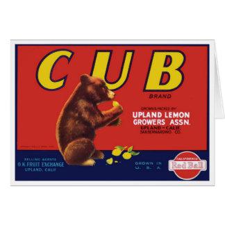CUB stigmatisent la carte de citrons