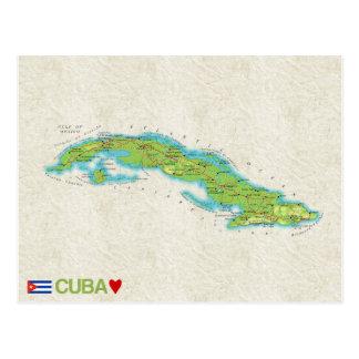 ♥ Cuba de CARTES POSTALES de CARTE