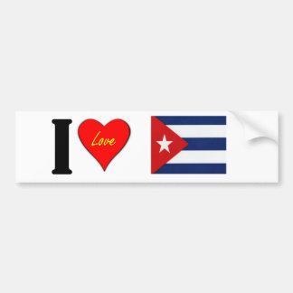 CUBAIN AUTOCOLLANT DE VOITURE
