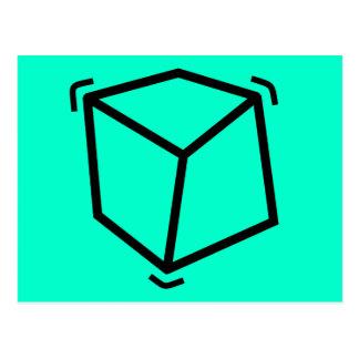 Cube en vibrateur cartes postales