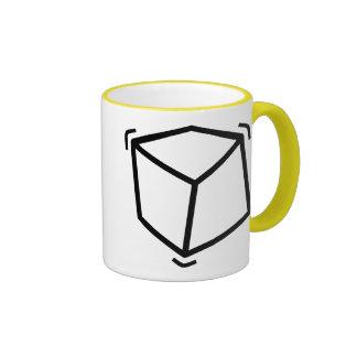 Cube en vibrateur mug ringer