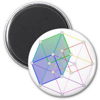 Cube hyper 2 -- la science fraîche dans 4D ! Aimants