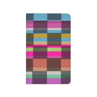 Cubes colorés carnet de poche