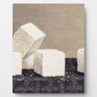 Cubes en sucre plaque photo