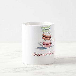 Cuillerée de tasse de Macarons