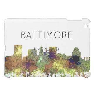 Cuir épais de safari d'horizon de Baltimore le Coques Pour iPad Mini