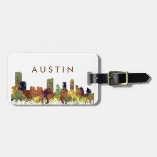 Cuir épais de SG-Safari d'horizon d'Austin le Étiquette À Bagage
