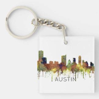 Cuir épais de SG-Safari d'horizon d'Austin le Porte-clefs