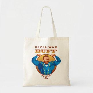 Cuir épais Grant de guerre civile--Conceptions de  Sacs En Toile