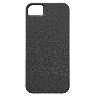 Cuir noir coques iPhone 5 Case-Mate