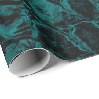 Cuir turquoise de Faux d'alligator Papier Cadeau