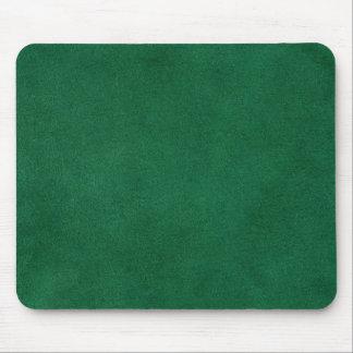 Cuir vert tapis de souris