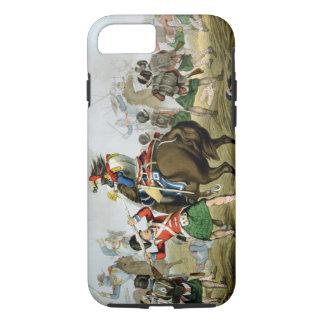 Cuirassiers français à la bataille de waterloo, coque iPhone 7