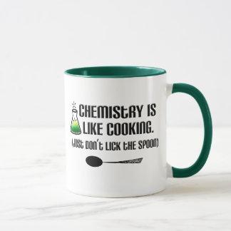 Cuisine de chimie mugs