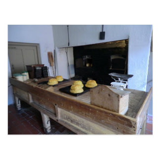 Cuisine d'Edwardian chez Erddig Hall Carte Postale
