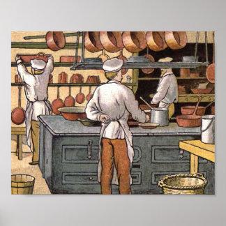 posters vintage de cuisine vintage de cuisine affiches art vintage de cuisine toiles vintage. Black Bedroom Furniture Sets. Home Design Ideas