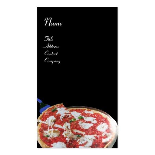 Cuisine italienne de partie de pizza restaurant carte de for Fourniture pizzeria