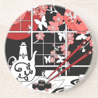 Cuisine japonaise dessous de verres