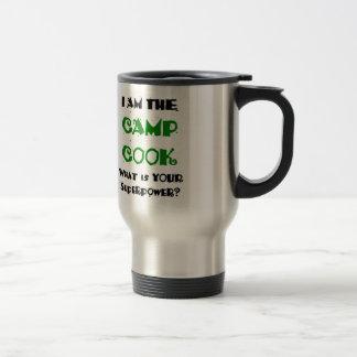 cuisinier de camp mug de voyage