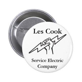 Cuisinier de Les Badge Avec Épingle