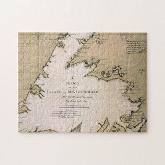 CUISINIER : TERRE-NEUVE, 1763 PUZZLE