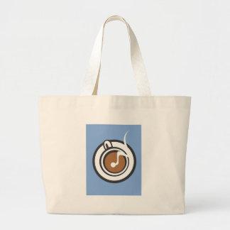 Cuisson à la vapeur de la tasse de café sac
