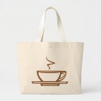 Cuisson à la vapeur de la tasse sac en toile
