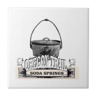 cuisson de Soda Springs Carreau