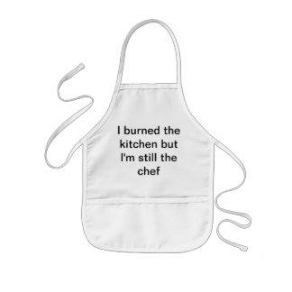 cuisson d'enfants tablier enfant