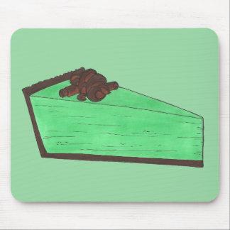 Cuisson verte de fin gourmet de tranche de tarte tapis de souris