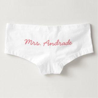 Culottes de jour du mariage de Mme Wedding