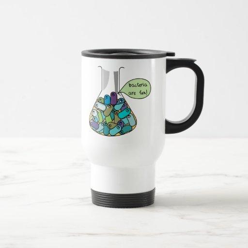 Culture bactérienne tasse à café