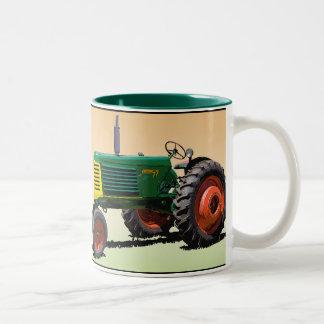 Culture de rangée du model 77 mug bicolore