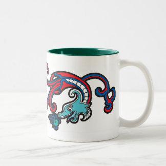 Culture NO.15 de dragon Mug Bicolore