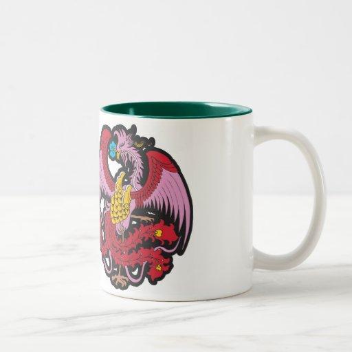 Culture NO.19, zazzle.com/jeffchen de dragon Mug À Café