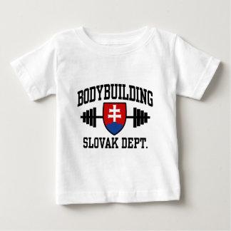 Culturiste slovaque t-shirt pour bébé